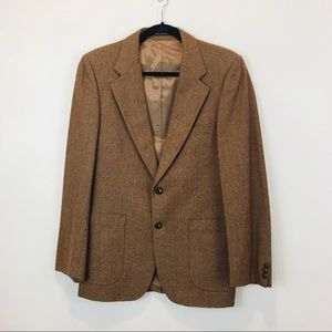 Yves Saint Laurent tweed blazer size 40